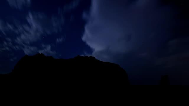 Alaska Kayak Island night storm video