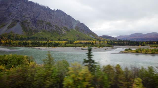 Alaska scenic view video