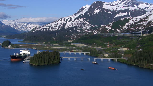 Alaskan pipline, Valdez Alaska video
