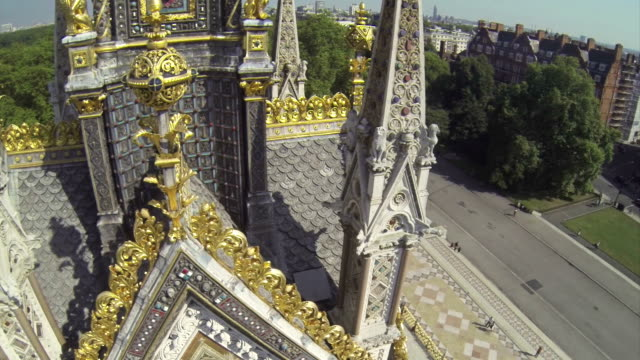 albert memorial in hyde park - victorian architecture stock videos & royalty-free footage