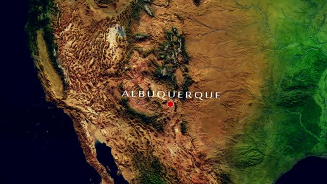 Albuquerque 4K Zoom In video