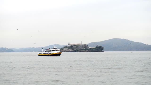 Alcatraz Island in San Francisco, USA. video