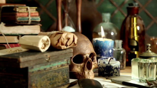 alchemy still life video
