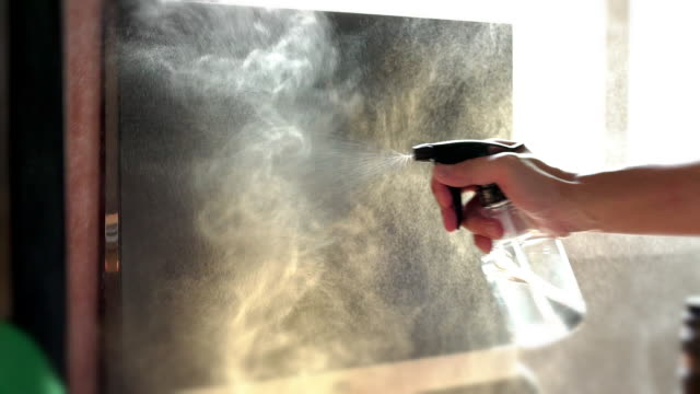 SLO MO Alcohol spray and wipe computer monitor