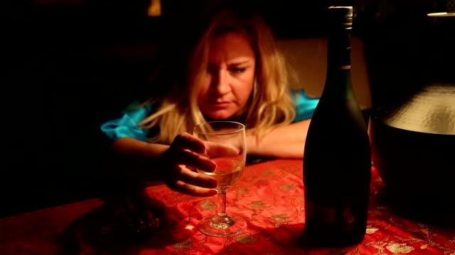 alcoholic woman video
