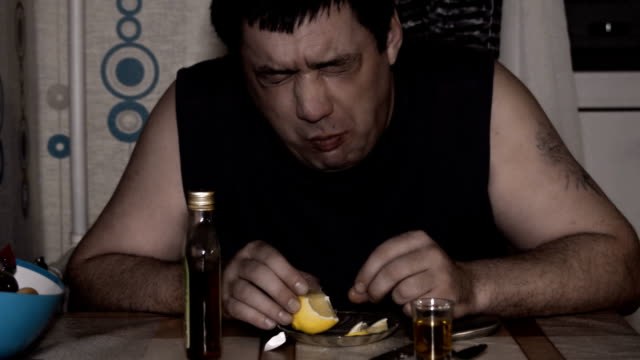 alcoholism, drinking man, lonely, angry video