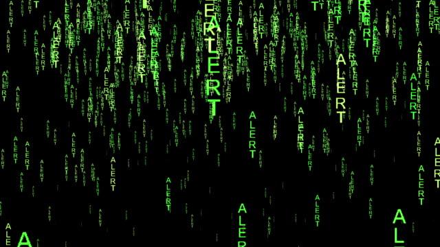 Alert data code  style