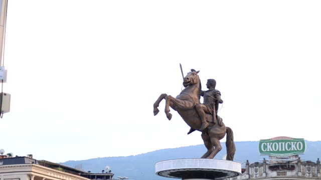 Alexander the Great Monument video
