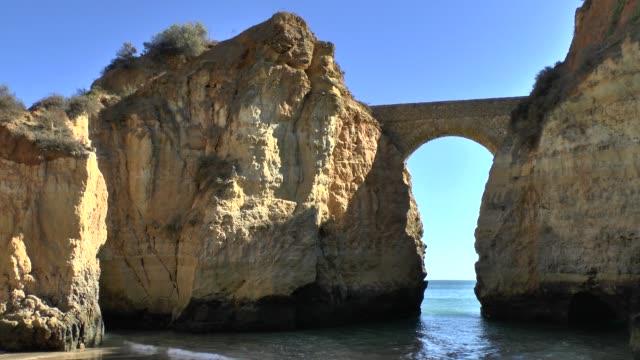 Algarve coast at Lagos Portugal video