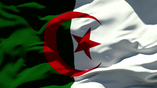 Algerische Flagge – Video