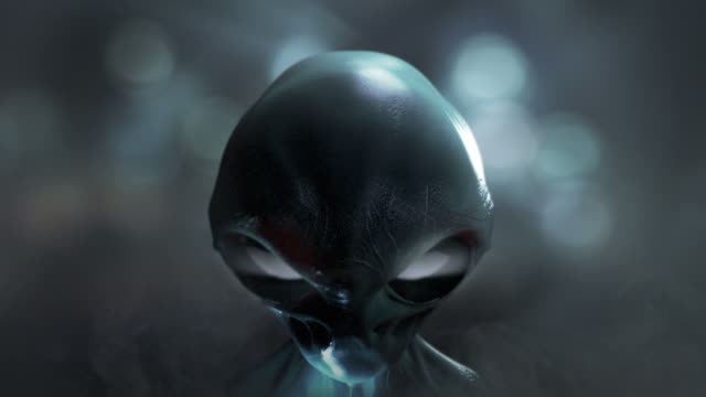 Alien observer. UFO. Invasion. video
