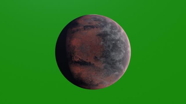 alien planet on green screen, 3d rendering - venus filmów i materiałów b-roll