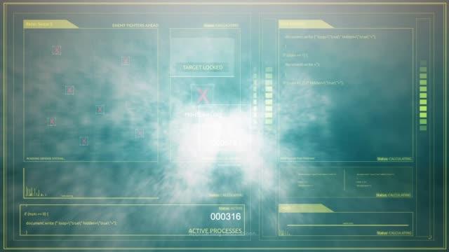 vídeos de stock, filmes e b-roll de uma vista de pov de espaçonave alienígena voando pelas nuvens muito rápidas - cirro