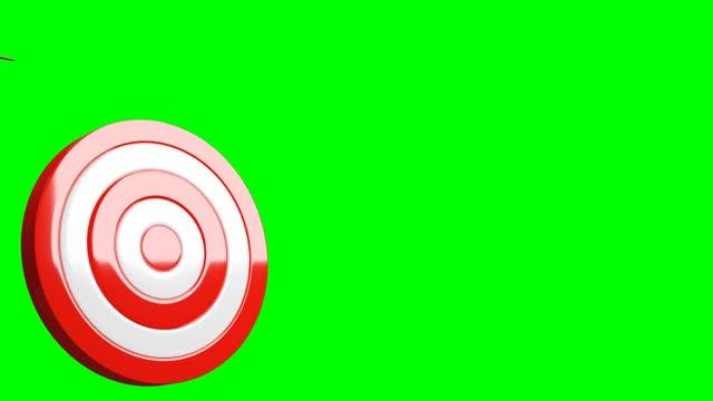 All dart arrows missed target.