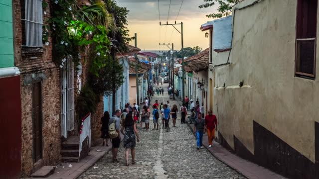 Alley in Trinidad, Cuba
