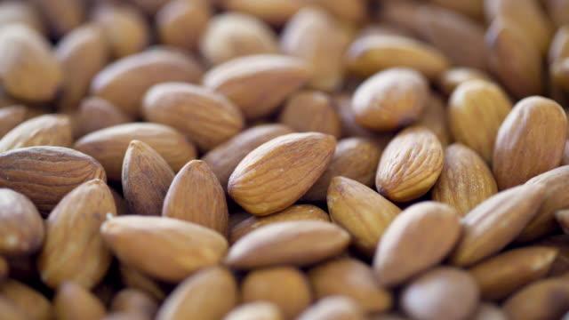 Almonds 4K Turntable Loop - Front macro