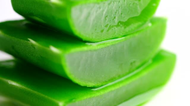 Aloe vera balanced slices video