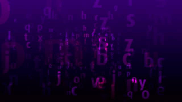 alphabet background - stavning bildbanksvideor och videomaterial från bakom kulisserna