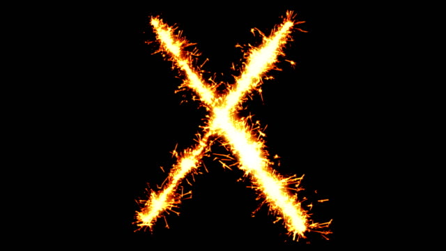 Alphabet X Text Sparkler Glitter Sparks Firework Loop Animation Alphabet X Text Sparkler Writing With Glitter Sparks Particles Firework on Black 4K Loop Background. Greeting card, Invitation, Celebration, Party, Gift, Message, Wishes, Festival. generation x stock videos & royalty-free footage