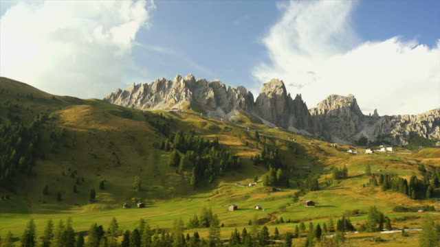 Alpine Mountain Landscape Panning video