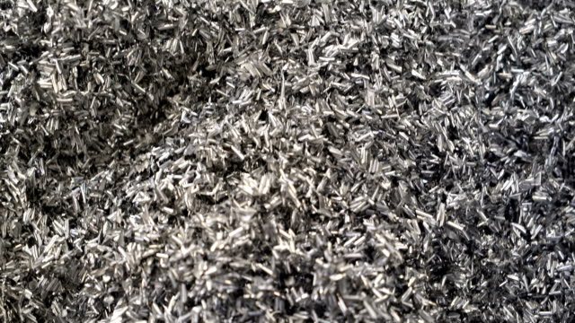 Aluminium Shavings video