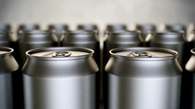 Aluminum beverage cans production loopable