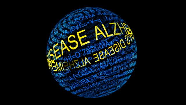 Alzheimer disease concept video