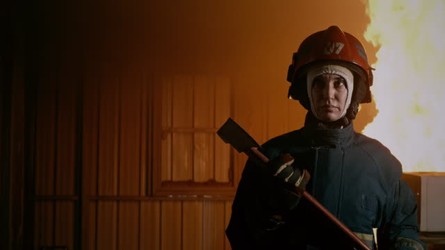 I am a firewoman, to the rescue.