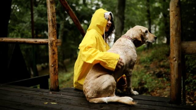 jag är den lyckligaste hunden i världen - hund skog bildbanksvideor och videomaterial från bakom kulisserna