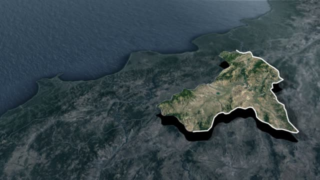 amasya provinsen - animation karta - anatolien bildbanksvideor och videomaterial från bakom kulisserna