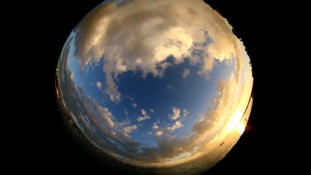 雲な美しさ - 層積雲点の映像素材/bロール