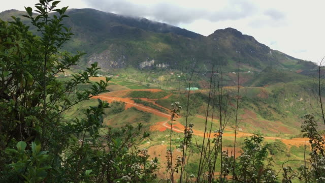 HD : Amazing mountain and forest in Sa pa , Vietnam Beautiful scene. general view stock videos & royalty-free footage