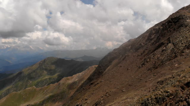 Amazing mountain hill at the hight over 3500 meters in Gergia