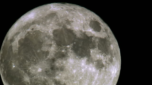 amazing shot of a super moon - moon stock videos & royalty-free footage
