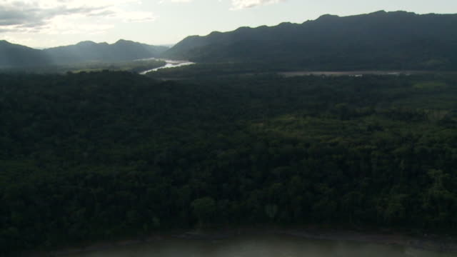 Amazon basin from the air video