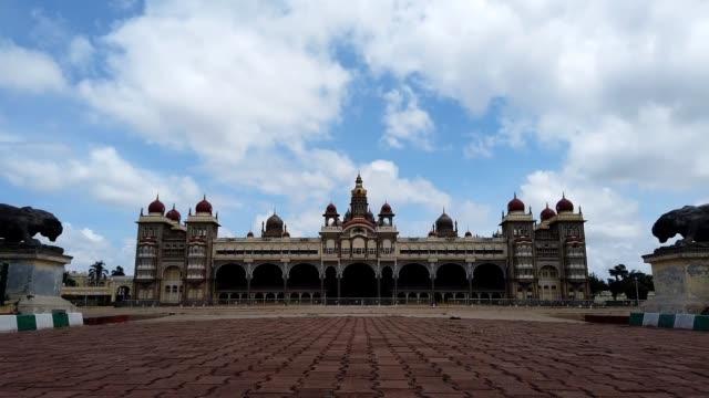 Ambavilas Royal Palace in a Time lapse at Mysore/Karnataka/India.
