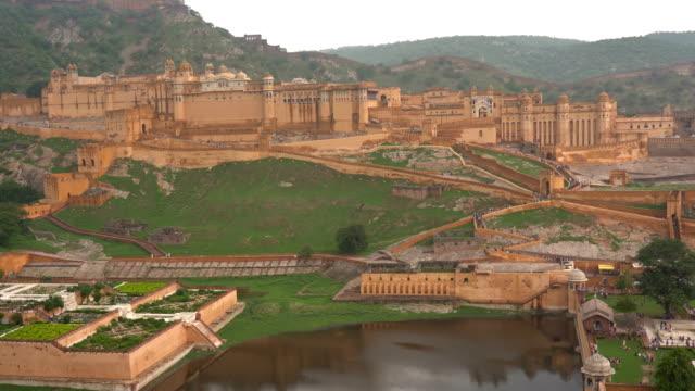 Amber Fort near Jaipur in Rajasthan, India