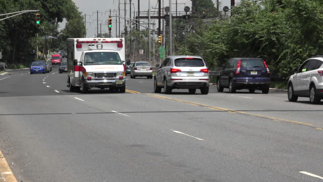Ambulance Driving in Emergency video