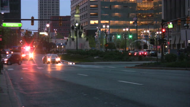 Ambulance emergency car rushing to accident scene. video