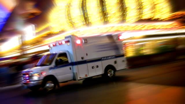 Ambulance in Las Vegas video