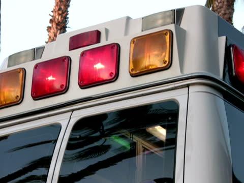 Ambulance, Rear Flashing Lights video