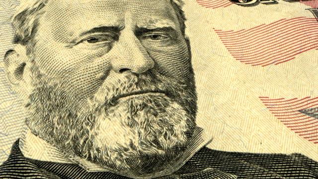 American Fifty Dollar Bill - 4K Resolution