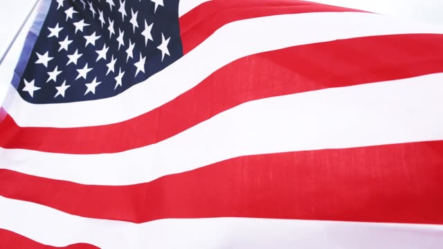 american flag 4th july - independence day stock videos and b-roll footage