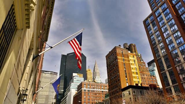 American Flag at Park Avenue