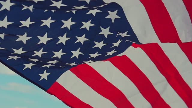 American flag for Memorial Independence Day 4th of July American flag for Memorial Independence Day 4th of July happy 4th of july videos stock videos & royalty-free footage