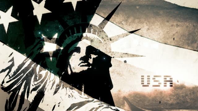 American Flag - Sketched V3 video