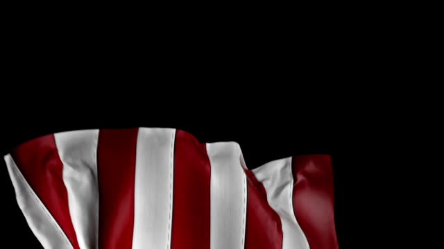 American Flag to use as a transition element. video