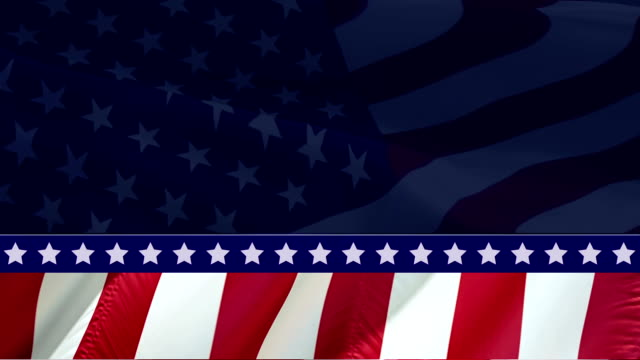 vídeos y material grabado en eventos de stock de video de la bandera americana. 3d bandera americana bandera americana de cámara lenta video. banderas americanas de ee.uu. de cerca. us flag motion loop hd resolución usa background. bandera de ee.uu. video de primer plano para el memorial patriot day - labor day
