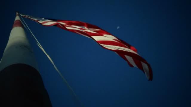 4K American Flag video