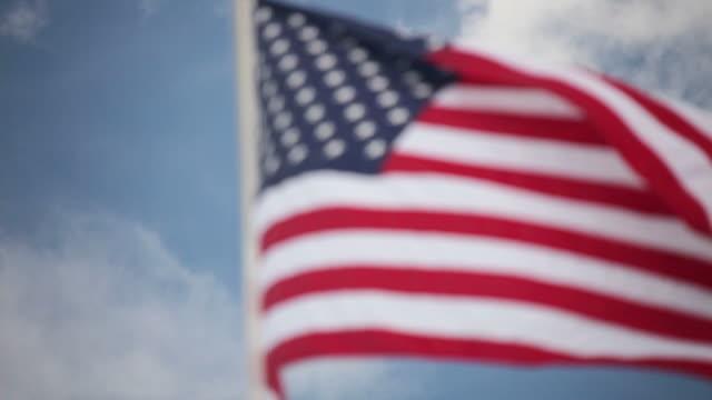 american flag - intoning bildbanksvideor och videomaterial från bakom kulisserna